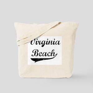 Virginia Beach (vintage] Tote Bag